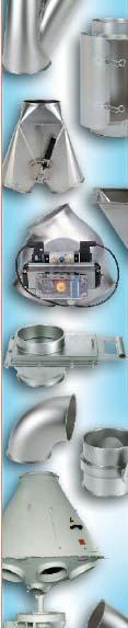 Продукция JACOB GMBH - легкие модульные трубопроводы для систем вентиляции и распределения сыпучих материалов